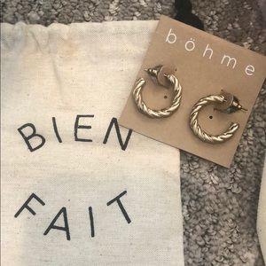 Bohme small hoop earrings